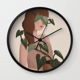 Liana - Bindweed Wall Clock