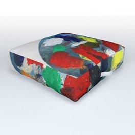 The Artist's Palette Outdoor Floor Cushion