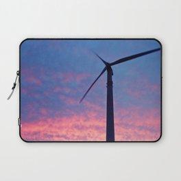 Turbine in Sunset Laptop Sleeve