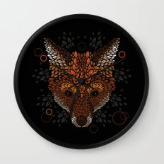 Fox Face Wall Clock