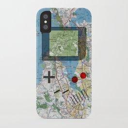 Game Boy Traveler: SF Bay Area iPhone Case