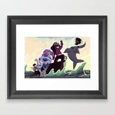 Crystal Gems Framed Art Print