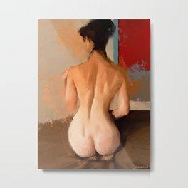 Nude Study No. 12 Metal Print