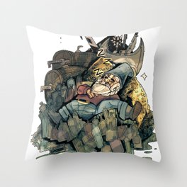 Gnome Chomsky Throw Pillow