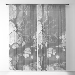 HOUSE OF WOLVES Sheer Curtain