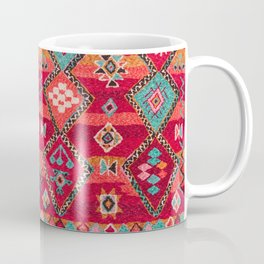 18 - Traditional Colored Epic Anthique Bohemian Moroccan Artwork Coffee Mug