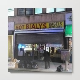 Hot Bialys (2017) from Roberta Winters Photography Metal Print