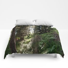 Summer forest Comforters
