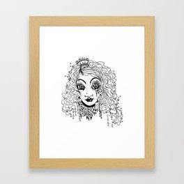 Queen- The forgotten sister Framed Art Print