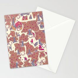 The orchard is such a very silly place Stationery Cards