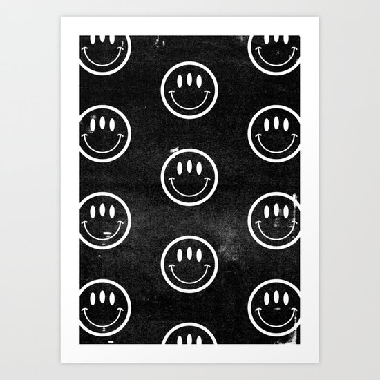 3rd eye (dark) Art Print