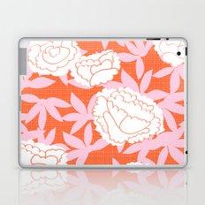 Zen Floral _ pink& coral Laptop & iPad Skin