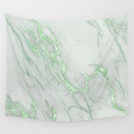 62e809cea3656 Marble Love Green Metallic Wall Tapestry