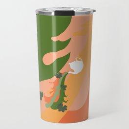 Herbal Tea Green Travel Mug