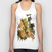 the strokes Tank Tops featuring Autumn Strokes by Bestree Art Designs