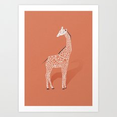Animal Kingdom: Giraffe I Art Print