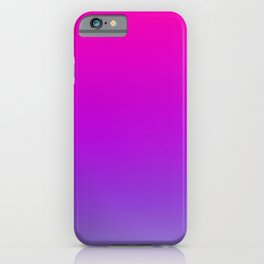 Pink and Purple Ombre iPhone Case