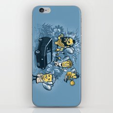 Bee Team 2 iPhone & iPod Skin