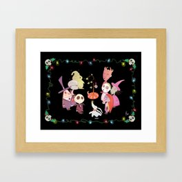It's A Very Nightmare Before Christmas Jack Skellington! Framed Art Print