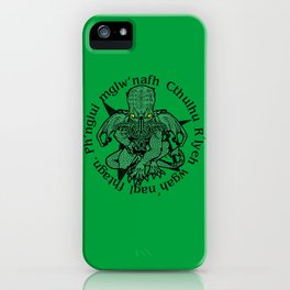 Call of Cthulhu iPhone Case