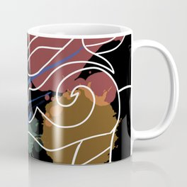Black Dragon Art Coffee Mug