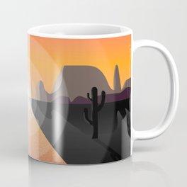 Desert at dusk Coffee Mug