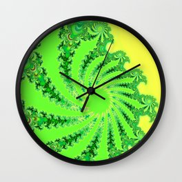Down the Rabbit Hole Wall Clock