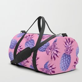 Violet pineapples Duffle Bag