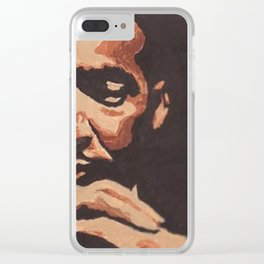 Dr. King Clear iPhone Case