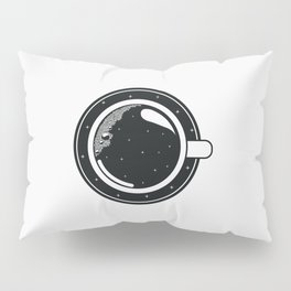 Cup of coffee with stars Pillow Sham
