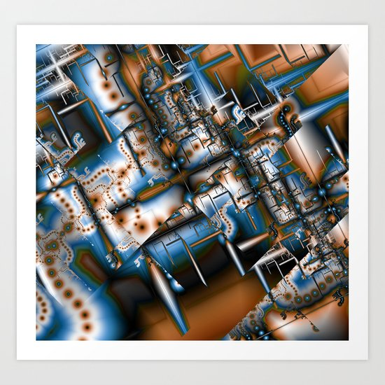 Modern Infestation Art Print