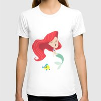 ariel T-shirts featuring Ariel by Rod Perich