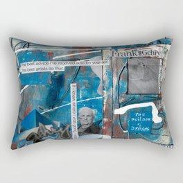 Frank Gehry Rectangular Pillow