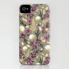 Flowers & Sea Shells iPhone (4, 4s) Slim Case