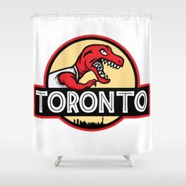 Toronto Park  Shower Curtain