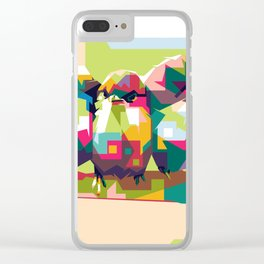 Birdies Chat Clear iPhone Case