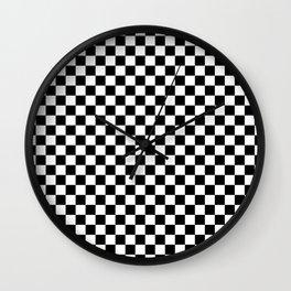 Chessboard 24x24 Wall Clock