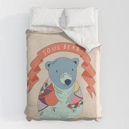 Soul Bear Duvet Cover