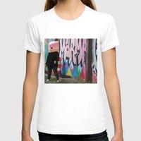 detroit T-shirts featuring Detroit Graffiti by ashurcollective