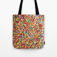 sprinkles Tote Bags featuring Sprinkles by Rupert & Company