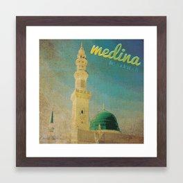 Medina Framed Art Print