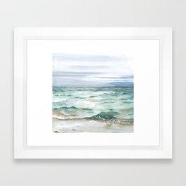 Oceanscape of Anna Maria Island Florida. Framed Art Print