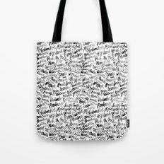 Badass Neighborhood Pattern Tote Bag