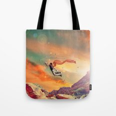 THE MAN WHO WANNA FLY AWAY Tote Bag