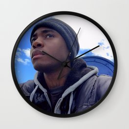 Seven Seconds - Kadeuce 5 to the Sky Wall Clock