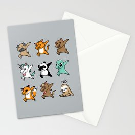 Dabbing Party Stationery Cards
