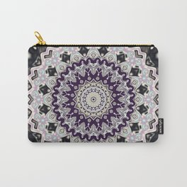 Black and white mandala (almost) Carry-All Pouch