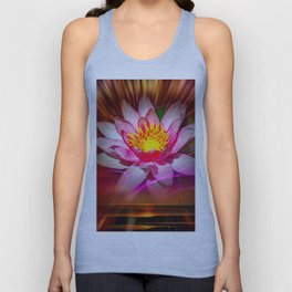 Weness - Water Lily Unisex Tank Top