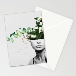 LADY FLOWERS XIII Stationery Cards