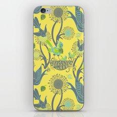 Birds and Acorns iPhone & iPod Skin